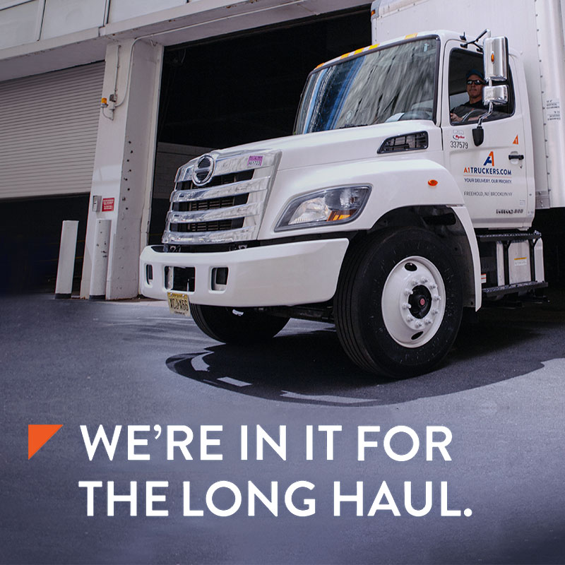 Trucking services - We're in it for the long haul