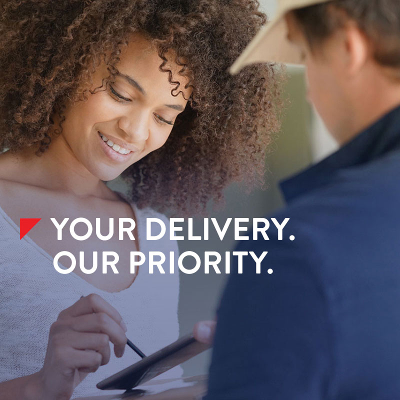 Your Delivery Our Priority